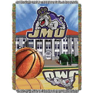 Northwest James Madison HFA Woven Tapestry Throw