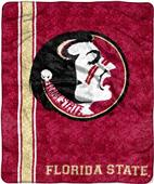 Northwest Florida State Jersey Sherpa Throw