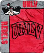 Northwest UNLV School Spirit Raschel Throw