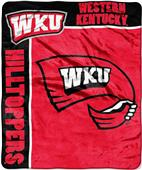 Northwest WKU School Spirit Raschel Throw