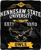Northwest Kennesaw State Label Raschel Throw