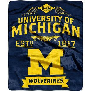 Northwest Michigan Label Raschel Throw