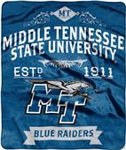 Northwest Middle Tennessee St. Label Raschel Throw