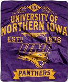 Northwest Northern Iowa Label Raschel Throw