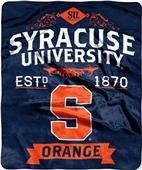 Northwest Syracuse Label Raschel Throw