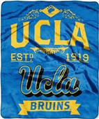 Northwest UCLA Label Raschel Throw
