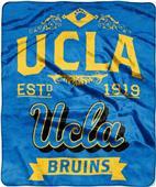 Northwest UCLA Label Raschel Throw