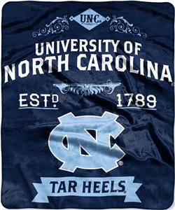 Northwest UNC Label Raschel Throw
