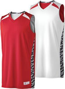 Printed Campus Reversible Basketball Jerseys