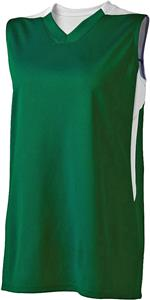 High Five Womens Half Court Basketball Jersey