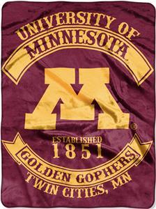 Northwest Minnesota Rebel Raschel Throw