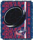 Northwest NHL Columbus Blue Jacket Jacquard Throws