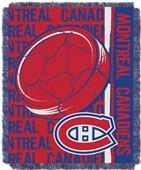 Northwest NHL Montreal Canadiens Jacquard Throws