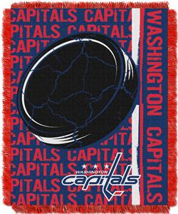 Northwest NHL Washington Capitals Jacquard Throws