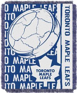 Northwest NHL Toronto Maple Leafs Jacquard Throws