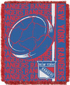 Northwest NHL New York Rangers Jacquard Throws