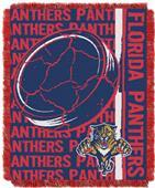 Northwest NHL Florida Panthers Jacquard Throws