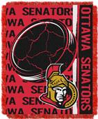 Northwest NHL Ottawa Senators Jacquard Throws