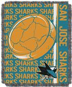 Northwest NHL San Jose Sharks Jacquard Throws