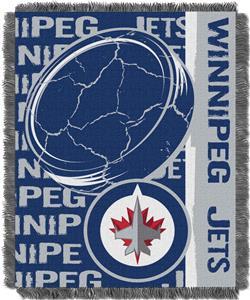 Northwest NHL Winnipeg Jets Jacquard Throws
