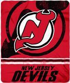 Northwest NHL Devils Fade Away Fleece Throw