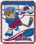 Northwest NHL Avalanche Score Baby Woven Throw
