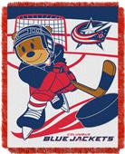 Northwest NHL Blue Jackets Score Baby Woven Throw