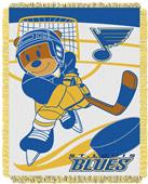 Northwest NHL St Louis Blue Score Baby Woven Throw