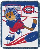 Northwest NHL Montreal Score Baby Woven Throw