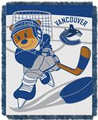 Northwest NHL Vancouver Score Baby Woven Throw