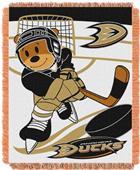 Northwest NHL Anaheim Ducks Score Baby Woven Throw