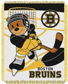 Northwest NHL Boston Bruins Score Baby Woven Throw