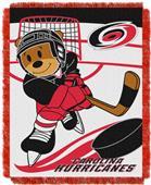 Northwest NHL Hurricanes Score Baby Woven Throw