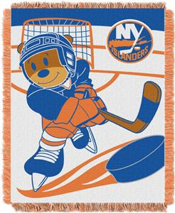 Northwest NHL NY Islanders Score Baby Woven Throw