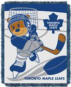 Northwest NHL Toronto Score Baby Woven Throw