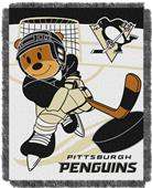 Northwest NHL Penguins Score Baby Woven Throw