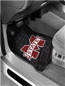 Northwest Mississippi St Car Floor Mats (set of 2)