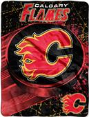 Northwest NHL Calgary Flames Micro Raschel Throw