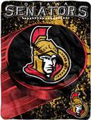 Northwest NHL Ottawa Senators Micro Raschel Throw