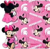 Northwest Michigan St Minnie Hugger & Fleece Throw