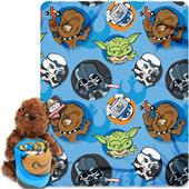 Northwest Star Wars Chewie Hugger/Fleece Throw Set