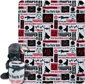 Northwest Galactic Vader Hugger & Fleece Throw Set