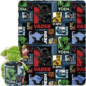 Northwest Yoda Story Hugger & Fleece Throw Set