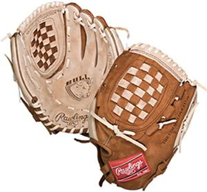 "Rawlings ""Bull"" Series 12"" Softball Gloves"