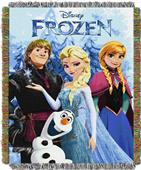 Northwest Frozen Fun Woven Tapestry Throw