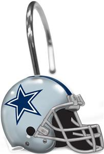 Northwest NFL Dallas Cowboys Shower Curtain Rings