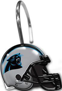 Northwest NFL Carolina Shower Curtain Rings