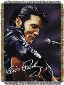 Northwest Elvis Woven Tapestry Throw