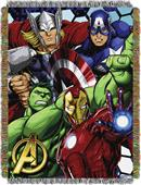 Northwest The Avengers Woven Tapestry Throw