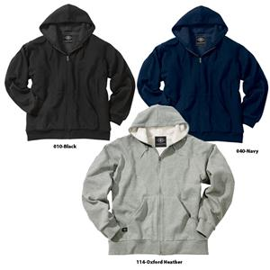 Mens Sherpa Fleece Hooded Sweatshirt Jackets